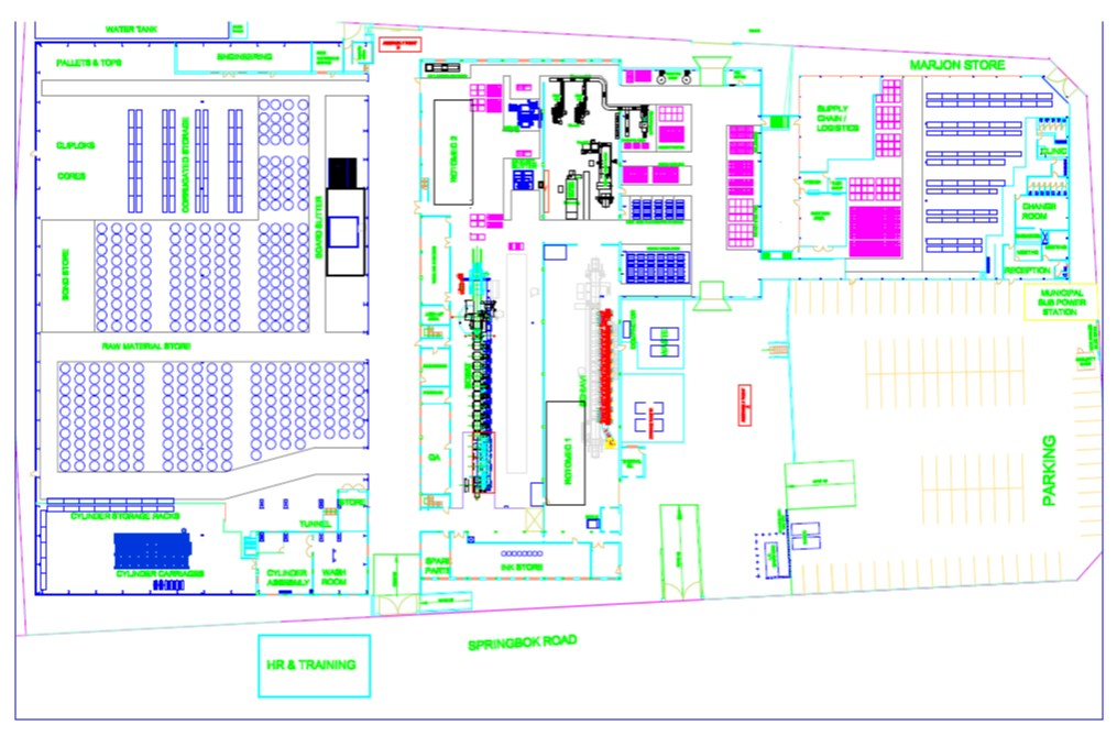 Factory Layout Flow on Us Factory Floor Plan